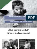 III° Dif - Unidad 5 PPT 1 - Marginalidad y Exclusión social