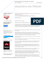 Justiça Restaurativa Em Debate_ Artigo_ Direito, Paradireitologia e Cosmoeticologia