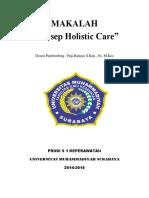 Makalah Teori Holistic Care