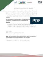 Programa Taller Observación de Clases Valparaíso