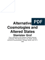 Stanislav Grof Alternative Cosmologies and Altered States