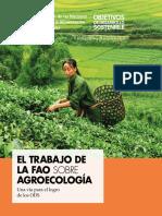 El Trabajo de La FAO Sobre Agroecología