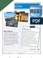 Summer Newsletter Mgbs