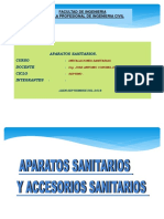 DIAPOSITIVA APARATOS SANITARIOS