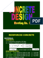 Concrete Design Part 1