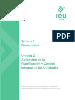 Aplicación de La Planificación y Control Integral de Las Utilidades