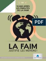 Rapport CCFD 201710 La Faim justifie les moyens