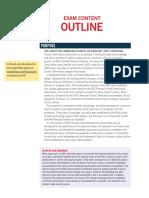 CPT Exam Content Outline