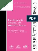 19 PEDAGOGIA EFICAZ EN MATEMATICAS.pdf