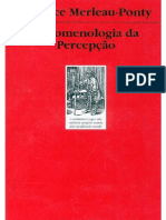 [Topicos] Maurice Merleau-Ponty_ Carlos Alberto Ribeiro de Moura - Fenomenologia da percepção (1999, Martins Fontes).pdf