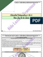 Actividad Integradora 6 de 6 - Una Ley de los Gases - Módulo 12 - Prepa en línea - SEP México.