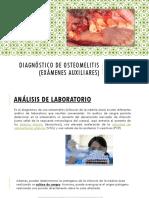Diagnóstico de Osteomelitis
