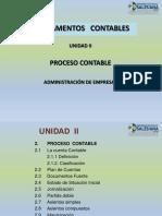 2) Unidad 2- Proceso Contable 1
