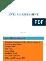 Level Measurement (1)