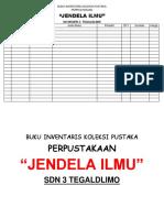buku inventaris perpustakaan