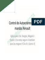 (Control de Autoestéreo  con mandos Renault).pdf