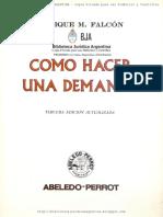 COMO HACER UNA DEMANDA - ENRIQUE M. FALCON.pdf