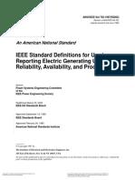 IEEE 666-1991 Service Sysrtem GE