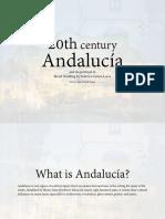 20th Century Andalucía