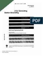 IEEE STD 665 1995 Gen Station Grounding