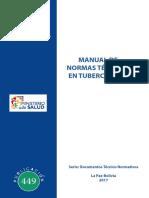 Manual de Normas Técnicas en Tuberculosis 2017
