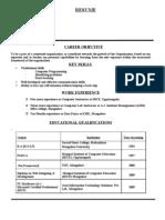 Vidya Resume