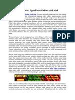 Tips Hindari Agen Poker Online Abal Abal   Gogopoker99