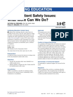 Steelman, Graling - 2013 - Top 10 Patient Safety Issues What More Can We Do