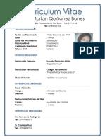 Yara Marian Quiñonez Bones