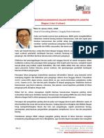 SCI - Artikel Bencana Dan Penanggulangannya Dalam Perspektif Logistik Bagian 3 Dari 3 Tulisan
