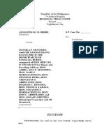 Petition for Prohibition TRO Cloribel