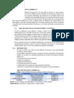 Areas de Influencia Indirecta - Proyecto