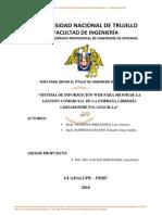 SISTEMA DE INFORMACION- Olorteguimelendez, Luis Antonio Rodriguez Bueno, Eduardo Jorge Andrés- 2016
