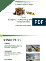 Carguío y Transporte 1 Introduccion