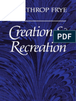 Northrop Frye - Creation and Recreation