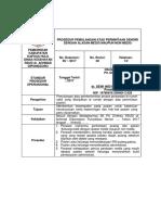 Spo Pemulangan Atas Permintaan Sendiri Dengan Alasan Medis Maupun Non Medis - Copy Edit