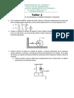 Taller 2 Sistemas Dinámicos