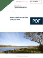 Environment & Energy brief