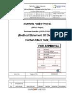 Methods Statement Procedure Carbon Steel Tank 2