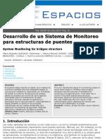 Proyecto Monitoreo de Estructuras de Puentes