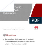 30 LTE ERAN7.0 PCI Conflict Detection&Self-Optimization