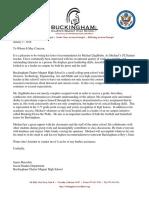 letter of rec buescher