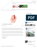 Las 5 Etapas Del Design Thinking