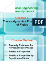 Chapter 3 Thermodynamics Properties of Fliuds