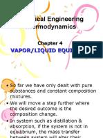 Chapter 4 Vapor Liquid Equilibrium