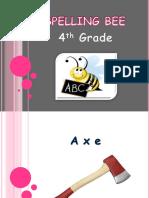 Spelling Bee 4