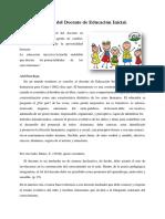 2 Perfil Del Docente de Educación Inicial Expocicion
