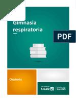 Gimnasia respiratoria