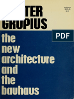Walter Gropius. - The New Architecture and the Bauhaus .pdf