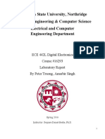 Microelectronics Lab Reports